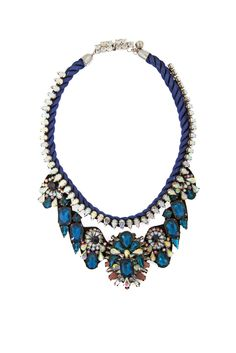 Statement Necklaces, Casual Chic, Royal Blue, Elegant, How To Wear, Jewelry, Fashion, Casual Dressy, Classy