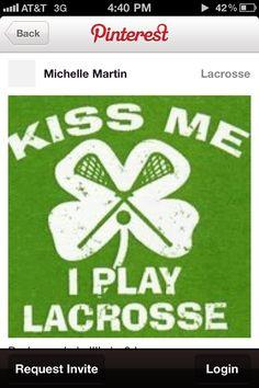 Lacrosse:)