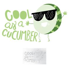 211/365 • Cool as a Cucumber • Hand lettering 365 amandamcdesigns.com Hand lettered original design! Sketched with pencil and recreated in Illustrator exploring creativity, color, and design elements. © Amanda McIntosh. All rights reserved. #design #graphicdesign #graphicdesigner #typography #handlettering #handwriting #art #create #365 #project365 #artist #illustration #illustrator #amandamcdesigns #handdrawntype #lettering #marketing #coolasacucumber #cucumber #sunglasses