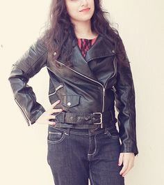 Yoins Cropped Biker Jacket Review | Makeup and Beauty Treasure