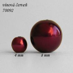 Vosková perle 8 mm