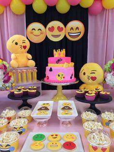 emoji Birthday Party Ideas   Photo 8 of 165