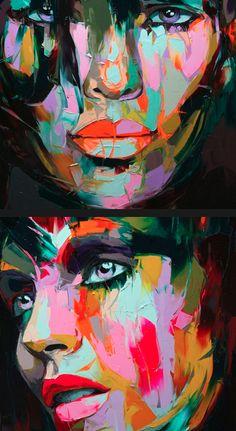 Oils by expressive artist ©Francoise Nielly - www.francoise-nie...