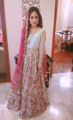 Brilliant summery zara shahjehan bridal