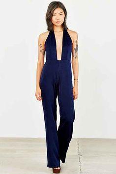 Capulet Halter-Neck Jumpsuit - Urban Outfitters