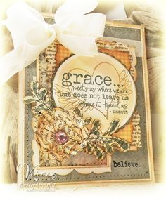 by Betty Wright using Verve Stamps.