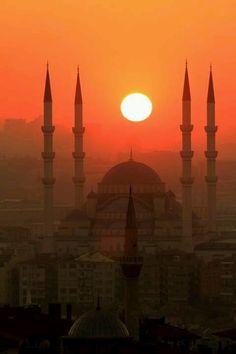 Estambul y sus mezquitas.