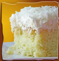 I Can't Pin It!: Hawaiian Wedding Cake