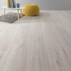 Sol vinyle Textile noma blanc, ARTENS, 4 m