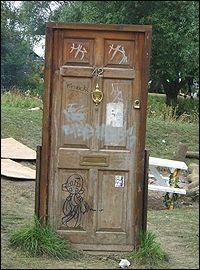 door to nowhere | Art & Design Inspiration | Art deco door, Secret Garden Door To Nowhere on