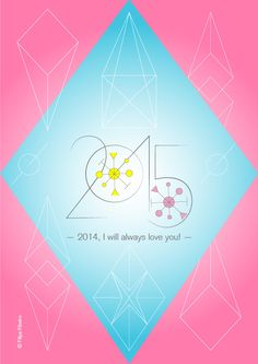 HAPPY 2015!!! (2014, I will always love you!) Happy 2015, Always Love You, Happy New Year, Rooster, Projects, Cards, Happy New Years Eve, Map, Playing Cards