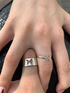 Butterfly Ring, Butterfly Jewelry, Cute Promise Rings, Ring For Boyfriend, Matching Couple Rings, Couple Jewelry, Accesorios Casual, Coque Iphone, Couple Pictures