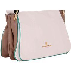 a0ffa1b988 Bolsa Tiracolo Smartbag Tricolor Branca - 73042 - bolsas para voce