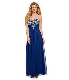 80a2a7797 B. Darlin Sweetheart Jeweled Bust Gown | Dillards.com from Dillard's. Saved  to
