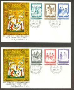Vatican City Sc# 404-9: Martyrs of Uganda on FDC | eBay