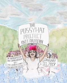 pussyhatproject - womens march on washington - wir sind gedanklich dabei - auf leekay.de  aktion siehe: www.pussyhatproject.com