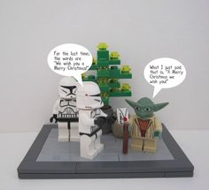 Star Wars Christmas Lego Laughs