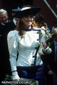 Sarah, Duchess of York Sarah Duchess Of York, Duke And Duchess, Lady Gaga Married, Eugenie Wedding, Eugenie Of York, Sarah Ferguson, Princess Eugenie, Prince Andrew, Duchess Of Cornwall