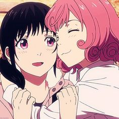 Kofuku and hiyori