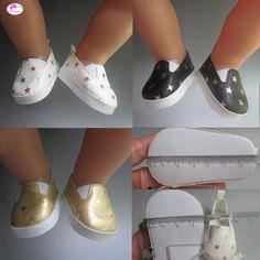 Stiefel für Puppen ca 80 cm 50-60 Puppen Schuhe