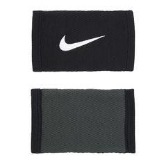 Nike Stealth Double Wide Wristbands AC3878-031 Dry Fit Bracelets Sport Fitness #Nike