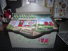 Arcade Games, Folk Art, Objects, Diy Crafts, Drawings, Illustration, Inspiration, Painting Patterns, Hampshire