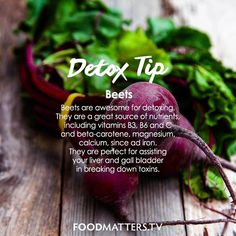 How do you love to use beets?!   www.hungryforchange.tv #DetoxTip