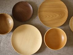 Japanese wooden bowls