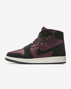 online retailer 6446c 4f24a Women s Air Jordan 1 Rebel XX Bordeaux Black Phantom Black Lifestyle Shoes  AR5599-600