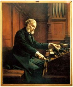 César Franck (1822-1890). Composer, pianist, organist and teacher, Franck is remembered for his organ music and the Symphony in D minor.