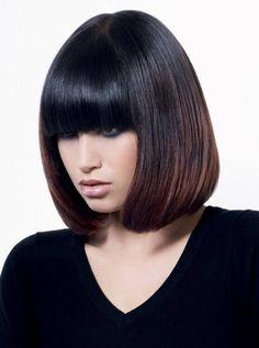 Interesting Bang Haircuts & Bangs Hairstyles for Women (18)