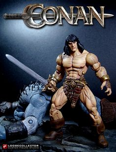 Loosecollector Custom Action Figures Official Website: Conan the Barbarian