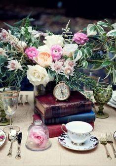Vintage wedding decor - Claudia McDade Photography
