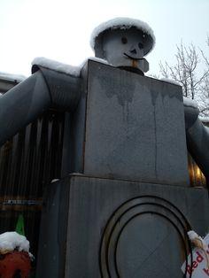 the  tin man in winter