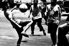 jucando por la calle de maracaibo