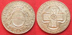 1826 Schweiz - Solothurn SOLOTHURN 5 Batzen 1826 BATZ Silber PRACHTSTÜCK!!! # 95411 unz-stgl
