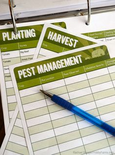 Keep track of financials, livestock health and crop inventroies with accurate and detailed farm records. Photo by Rachael Brugger (HobbyFarms.com)