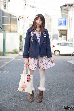 Luna | 1 April 2015 | #Fashion #Harajuku (原宿) #Shibuya (渋谷) #Tokyo (東京) #Japan (日本)