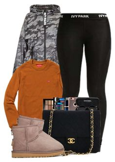 """Warm"" by ashcake-wilson ❤ liked on Polyvore featuring Topshop, Ivy Park and UGG"