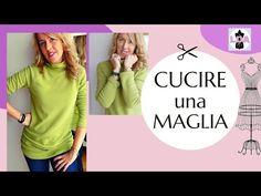 Cucire una maglia - YouTube