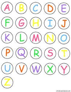 * Letterspel! 6-6  Deze kaart 5 keer uitprinten! Alle kaarten plastificeren voor meer speelplezier!