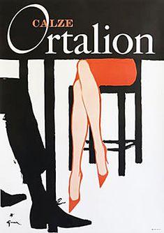Gruau Calze Ortalion by Galerie Montmartre, via Flickr