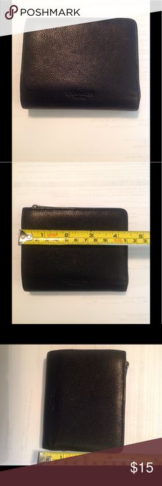 Coach Wallet EUC men's leather wallet. Could be unisex. No flaws. Pet/smoke free home. Coach Bags Wallets
