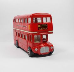 London Bus - No.10 - Routemaster - Die-Cast Toy Model - Corgi Routemaster, London Bus, Corgis, Hot Wheels, Diecast, Toys, Car, Model, Activity Toys