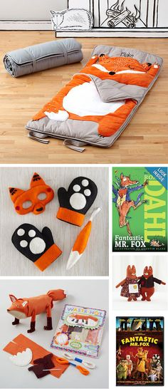 {Unique Fox Finds} Love this collection of toys from Land of Nod