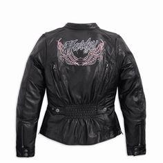 Harley-Davidson Women's Pristine Leather Jacket - 97110-12VW | eBay