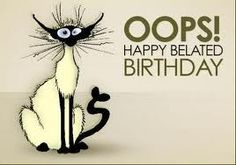 Super happy belated birthday wishes pictures ideas Happy Birthday Sweet Sister, Belated Birthday Funny, Funny Happy Birthday Messages, Funny Happy Birthday Pictures, Sister Birthday Quotes, Birthday Wishes Quotes, Happy Birthday Greetings, Sister Quotes, Humor Birthday