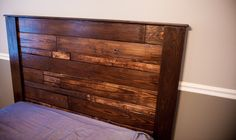 DIY Queen Pallet Bed and Headboard – Lance Ingle