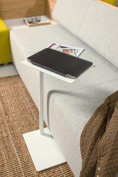 Cascando's Team laptop table, Team hybrid seating elements.