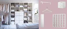 IKEA storage...insideout closet.